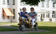 Duo- en rolstoelfietsen vanaf nu ook te huur voor derden