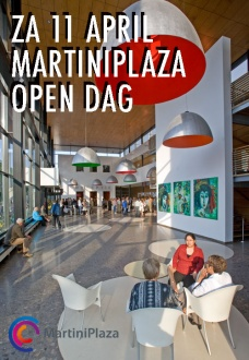 Zaterdag 11 april: OPEN DAG MARTINIPLAZA!