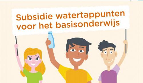 Tweede ronde subsidie watertappunten