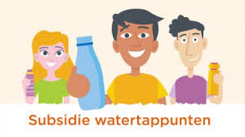 Subsidie watertappunten, nu ook voor voortgezet onderwijs