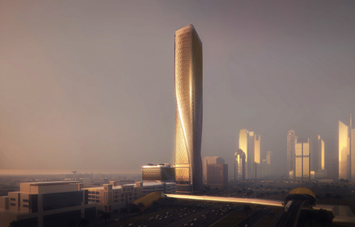 A new kind of high-rise for Dubai