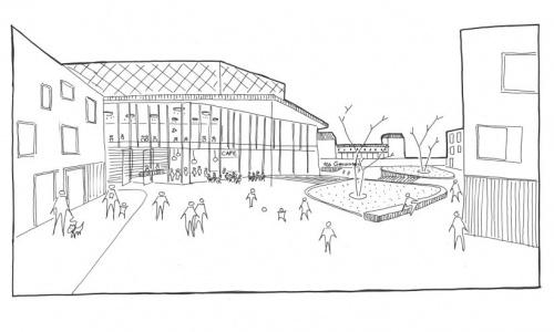 Nieuw muziekcentrum in stationsgebied