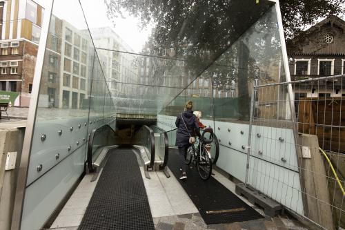 Maak gebruik van gratis fietsenstallingen en extra fietsenrekken