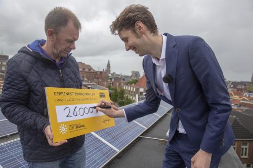 Langste dag levert 149 MWh zonnestroom op