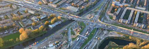 A28 richting Groningen gedeeltelijk dicht