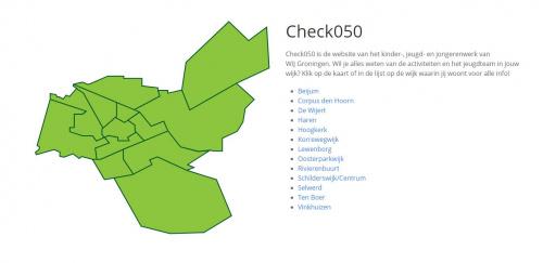 Nieuwe website Check050!