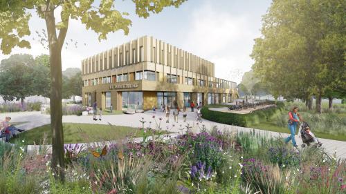 Ontwerp nieuwbouw IKC Rummerinkhof in Haren bekend