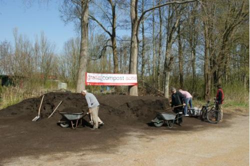 Gratis compost halen op 30 en 31 maart