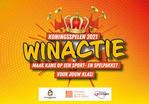 Koningsspelen 2021; maak kans op een sport- en spelpakket