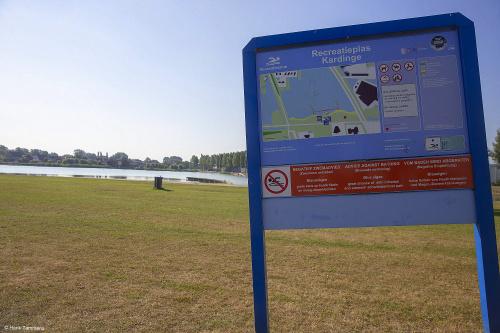 Advies: voorlopig niet zwemmen in recreatieplas Kardinge