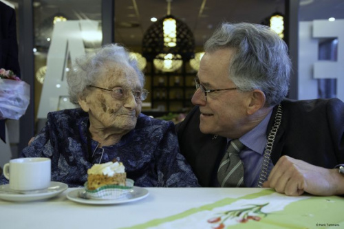 Mevrouw Alfing-Sissing 100 jaar