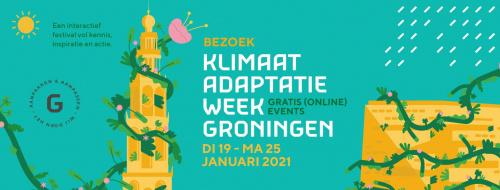 Klimaatadaptatieweek Groningen 19 t/m 25 januari