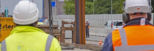 Vervolg werkzaamheden rondom bouwkuip verdiepte ligging zuidelijke ringweg