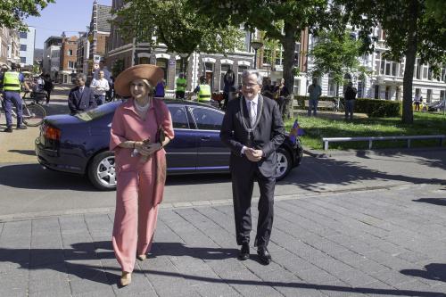 Koningin Máxima opent Kinderbiënnale