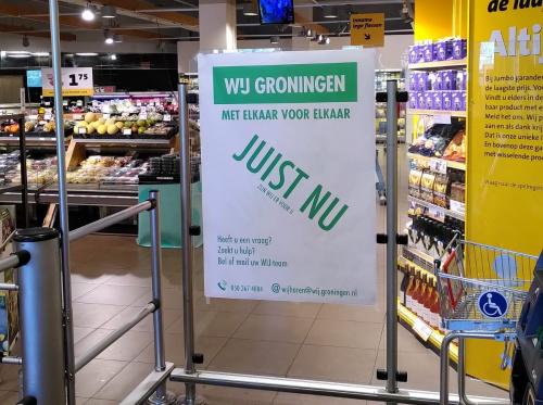 WIJ Groningen start posteractie in de wijken