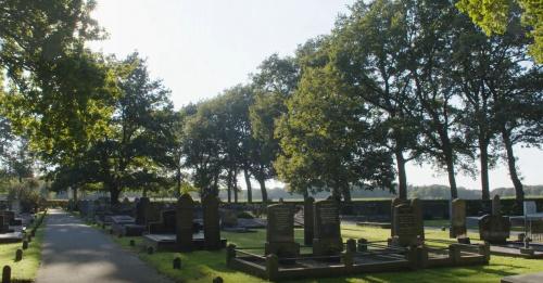 150 jaar begraafplaats Noordlaren