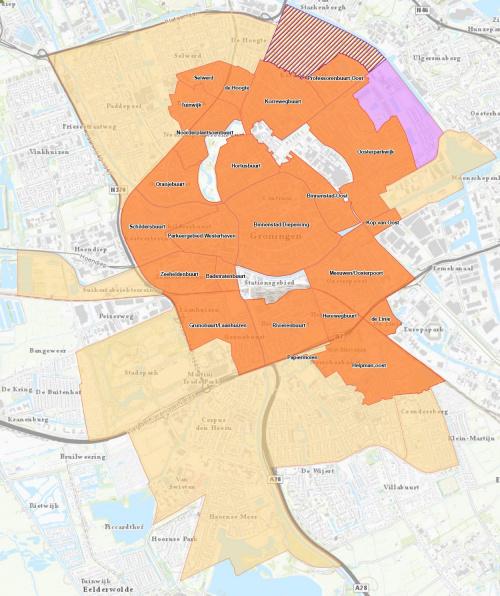 Aanpak parkeeroverlast in groter gebied