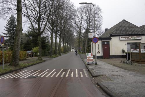 Nieuw asfalt op de Oude Middelhorst