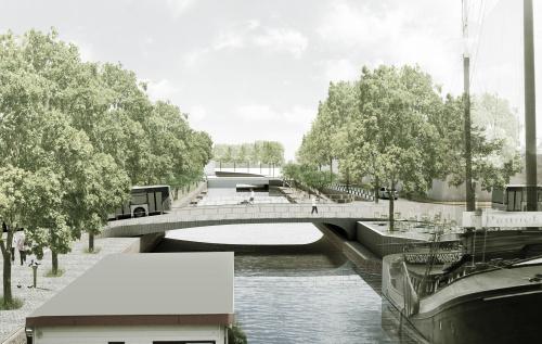 Nieuw ontwerp voor Kattenbrug over Schuitendiep