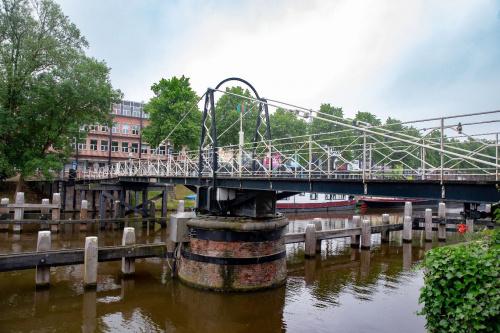 Trompbrug weer hele dag open voor fietsers en voetgangers