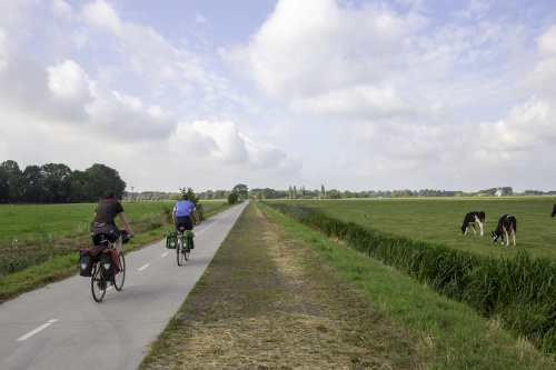 Fietspad Stadsweg bij Garmerwolde weer open voor fietsers en wandelaars