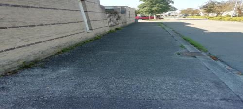 Werkzaamheden aan voetpaden en rijbaan